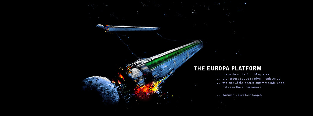 The Europa Platform: The pride of the Euro Magnates. The largest space station in existence. The site of the secret summit conference between the superpowers. Autumn Rain's last target.